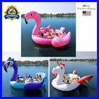 Sun Pleasure Party Bird Island For 6 Person Water Float Lounge Lake Raft Lounge