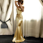 Women Wedding Bridesmaid Long Evening Party Ball Prom Gown Cocktail Dress Lot