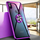 For iPhone 11 Xs Max 8 Ring Magnetic Shockproof Rugged Hybrid Phone Case Cover