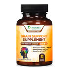 Brain Booster Nootropic Supplement 1053mg Support Focus Energy Memory & Clarity