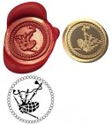 Scots Music Bag Pipes Wax Stamp Seal Starter Kit / Buy Coin Only XWS039B/XWSC227