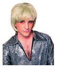 1970's Men's Disco Shag Wig Layered Cut Synthetic Hair Costume Character Wig