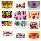 FOOD CHEETOS TAKIS COKE DR. PEPPER GROSGRAIN RIBBON FOR HAIR BOWS DIY CRAFTS
