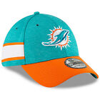 2018 Miami Dolphins New Era 39THIRTY NFL Sideline Home On Field Cap Hat Flex on eBay