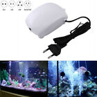 Aquarium Air Pump Fish Tank Oxygen Silent Aquatic Supplies w/ 2M Hose Home Use