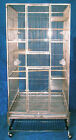 """30""""x30x70"""" SUS304 Stainless Steel Parrot Cage Bird Cage no rust easy clean SS30"""