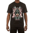 Hustle Gang Men's The Darkness T Shirt Black Tee T-Shirts Clothing Apparel