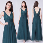 Ever-Pretty Wedding Bridesmaid Long Evening Party Prom Cocktail Dress 07458