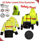 Внешний вид - Hi-Vis Insulated Safety Bomber Reflective Jacket Road Work HIGH VISIBILITY 18