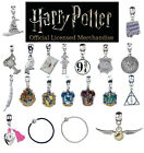 Harry Potter Jewellery Slider Charms Silver Plated