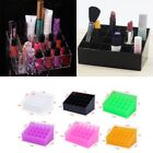 24 Cosmetic Lipstick Display Stand Makeup Brushes Organizer