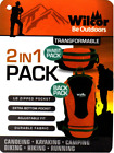 Waist Pack Backpack Transformable Convertible 2 in 1 Fanny Pack