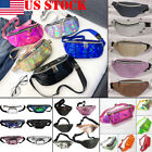 US STOCK Bum Bag Fanny Pack Pouch Travel Waist Belt Leather Holiday Money Wallet