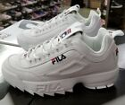 FILA DISRUPTOR II MEN WHITE PEACT RED FW01655 111