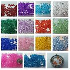 *24 Colors!* 4mm+ Birthstone Crystals 10pcs-lot f/Floating Charm Locket USA * image