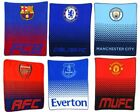 EXTRA LARGE - Super Soft Official Football Club Fleece Blanket Fans Gift Throw