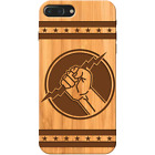 Zeus Hand Wooden Phone Case Iphone & Samsung