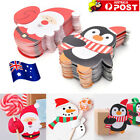 50Pc Santa Penguin Christmas Party Lollipop Lolly Sugar-loaf Paper Card Holder S