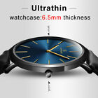 New Men's Watch 6.5mm Ultra-thin Fashion KEMANQI Watch Simple Business Quartz image