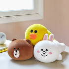 LINE FRIENDS Character Soft Mini Pillow Cushion 3 Types BROWN CONY SALLY