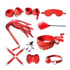Adult-Sex-SM-Toys-Handcuffs-Cuffs-Strap-Whip-Rope-Neck-Bandage-Sexy-SM-1/7/10pcs