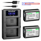 NP-FW50 Battery or LCD Charger for Sony ILCE-7S Alpha 7S a7S, SLT-A37 SLT-A55