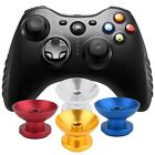 1 Pair Metal Analog Thumbsticks Thumb Stick Joystick Cap Cover for Xbox 360 &s