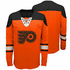 NHL Philadelphia Flyers Perennial Long Sleeve Crew Jersey Shirt Top Youth Kids $34.0 USD on eBay