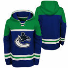 NHL Vancouver Canucks Asset Pullover Hockey Hoodie Top Sweater Jumper Youth Kids $63.43 USD on eBay