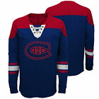 Montreal Canadiens Perennial Long Sleeve Crew Jersey Shirt Top Youth Kids $35.52 USD on eBay