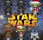 Funko POP! Star Wars Holiday - Darth Vader - Yoda - Chewbacca - R2D2 - C3PO $35.99 USD on eBay