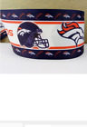 "1.5"" GROSGRAIN DENVER BRONCOS FOOTBALL RIBBON 4 HAIR BOWS *SHIPS FREE*USA $5.68 USD on eBay"