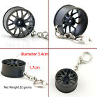 Wheel Rim Tyre Keychain Creative Hot Auto Part Model Tire Keyring Key Chain Ring