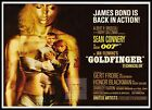 Goldfinger 4 British Movie Posters Classic Vintage & Films £26.99 GBP on eBay