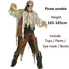 US Mummy Scary Zombie Horror Halloween Adult Party Mens Fancy Dress Up Costume