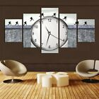 Painting Classic Clock Man Canvas Cover Wall Art Picture - Printed Home Decor