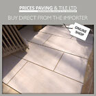 FULL BODIED RECTIFIED GREY / IVORY OUTDOOR PORCELAIN PAVING 20mm - 900x450x20mm