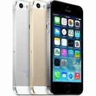 Apple iPhone 5S Factory Unlocked GSM SmartPhone 16GB 32GB Gold Gray Silver