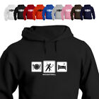 Racquetball Player Racquetball Daily Routine Hoodie Gift 881