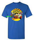 MUSCLE CAR POWER T SHIRT retro vintage style hot rod drag race racing nostalgia