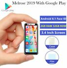 2019 Smallest 3.4 Inch 4G LTE Smartphone Melrose Android 8.1 Google Play 2GB 32B