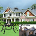 5Ft Huge Giant Large Realistic Spider Outdoor Spooky Halloween Home Party Decor