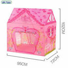 Kids Play Tents Pizza Store Little Princess House Foldable Portable Playhouse