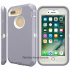 Shockproof Protective Case Cover+Screen Protector For iPhone 8 7 6S iphone8 Plus