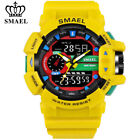 SMAEL Digital Sport Watches Dual Time LED Men Wristwatch Fashion Outdoor Watch image