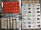 Stampin Up Stamp Sets, Holiday, Retired, Wood Blocks, Complete Sets. Free Ship!