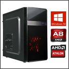 12-core 240GB-2TB SSD Gaming Computer Desktop PC Tower Quad Core 16GB 3.9GHz