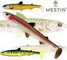 Westin Lures HYPOTEEZ ST 15cm 30g 25cm 110g Soft Bait Fishing Paddle Tail Shad