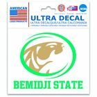 "Bemidji State Beavers Official NCAA 3"" x 4"" Automotive Car Decal 3x4 ..."
