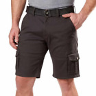 Weatherproof Vintage Men's Comfort Stretch Utility Cargo Shorts With Belt